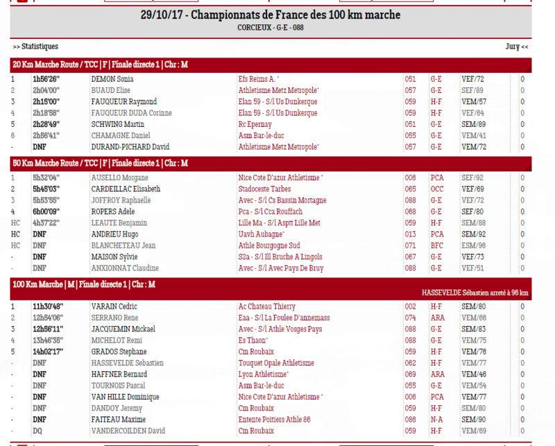 FRANCE 100 km 2017 CORCIEUX Corcie12