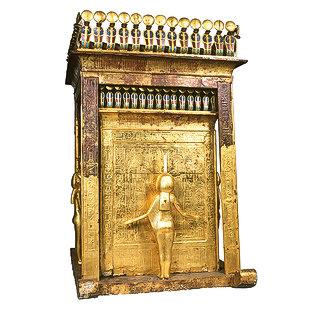 Canopic Shrine of Tutankhamun 280-8-10