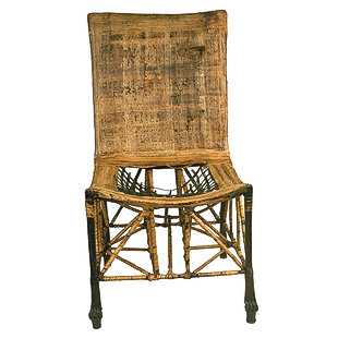 Chair with Papyrus Decoration 423-4-10