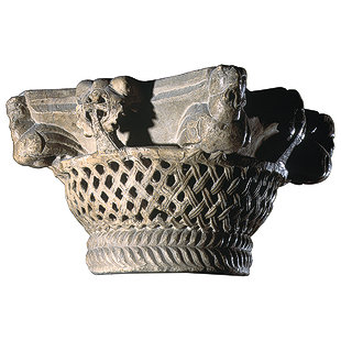 Column Capital in the Form of a Basket 56-2-c10