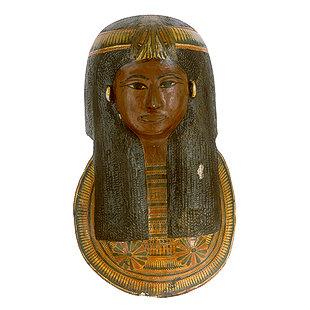 Cartonnage Mummy Mask of Isis 612-1-10