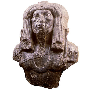 Bust of Amenemhat the Third in Priestly Costume 9903_310