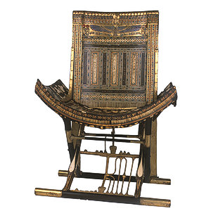 Ceremonial Throne of Tutankhamun Em-39410