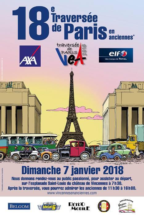 Participation du club à la Traversée de Paris 25399010