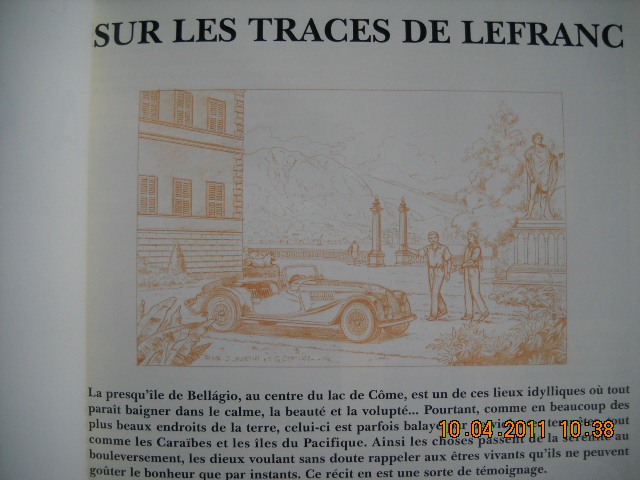 Les éditions spéciales de Lefranc 00110