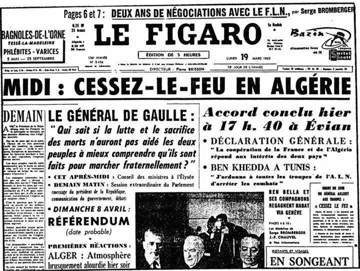 Commémoration de cessez-le-feu en Algérie (  19 mars 1962 ) 19677910