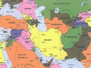 Géopolitique et stratégie d'Iran Cental10