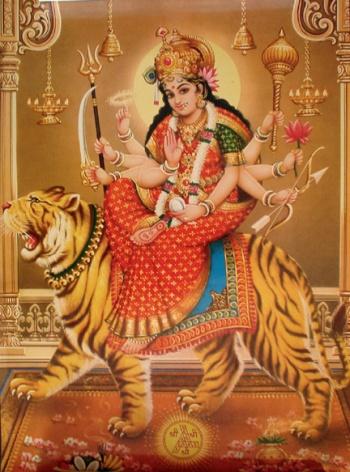 Hindouisme  Durga210
