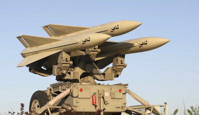 Missile balistique intercontinental iranien Irak-m10