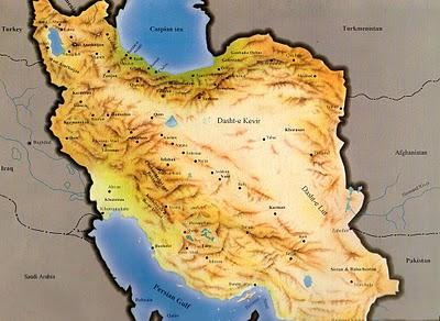 Géopolitique et stratégie d'Iran Iran-m10