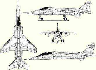 Avion de combat européen Jaguar10