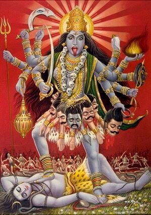 Hindouisme  Kali10