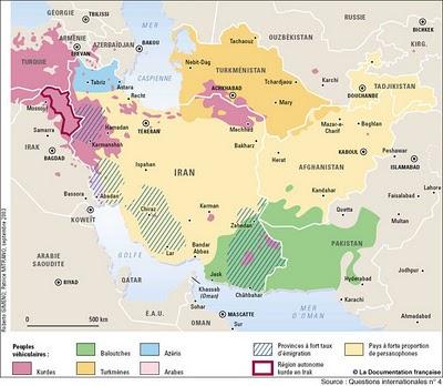 Géopolitique et stratégie d'Iran Proche10