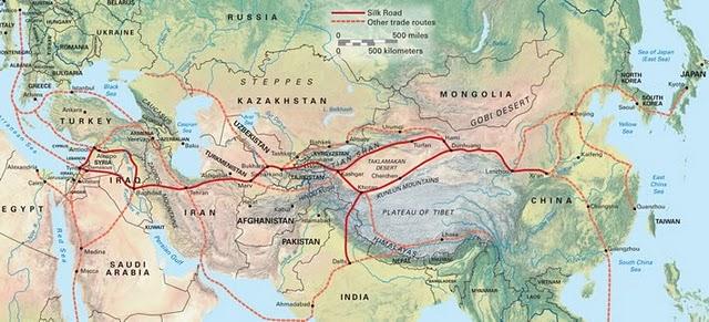 Géopolitique et stratégie d'Iran Silk_r10