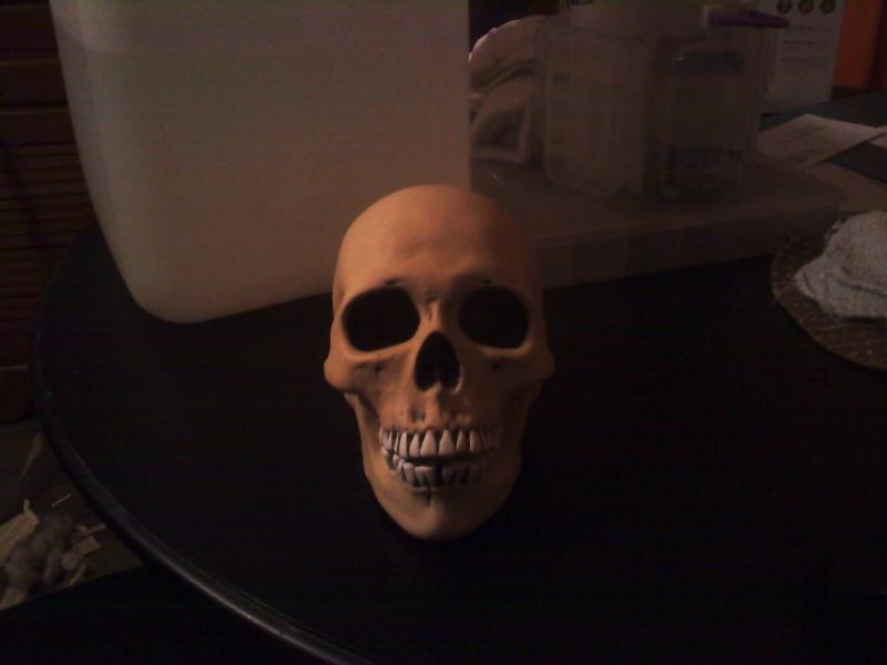 ceramic human skull Cerami10