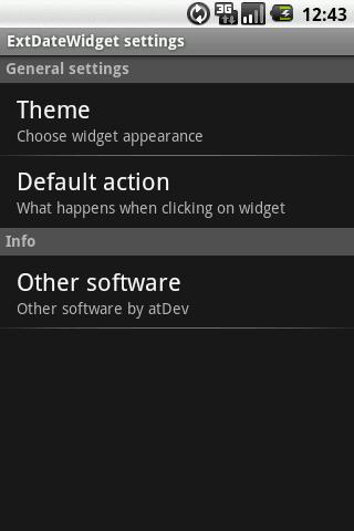 [WIDGET] EXTDATE : Widget personnalisable affichant la date [Gratuit/Payant] Screen10