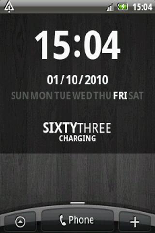 [WIDGET] D-CLOCK : Horloge avec les jours de la semaine personnalisable [Gratuit] Screen21