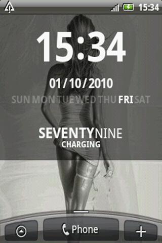[WIDGET] D-CLOCK : Horloge avec les jours de la semaine personnalisable [Gratuit] Screen22