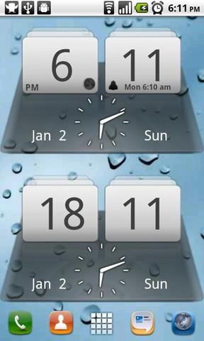 [WIDGET] MIUI DIGITAL CLOCK : Horloge digitale de la célèbre team miui [Gratuit] Screen55
