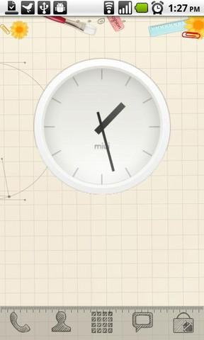 [WIDGET] MIUI ANALOG CLOCK : Horloge analogique de la team miui [Gratuit] Screen56