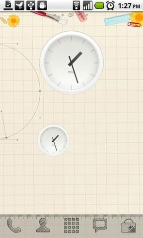 [WIDGET] MIUI ANALOG CLOCK : Horloge analogique de la team miui [Gratuit] Screen57