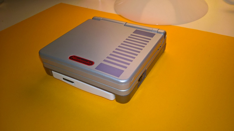 K1 GBA Vs coque GBA SP original Wp_20119