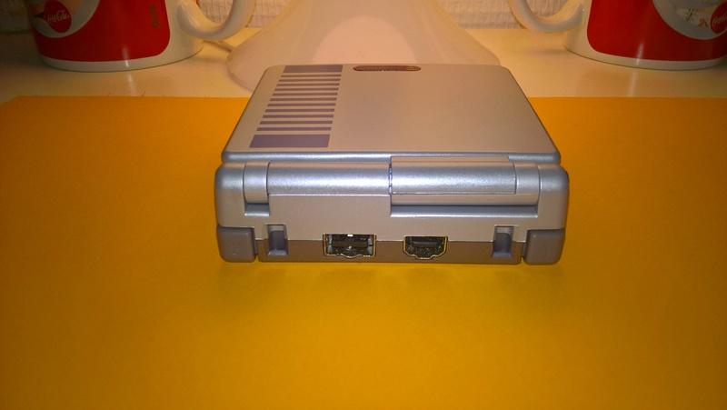 K1 GBA Vs coque GBA SP original Wp_20121