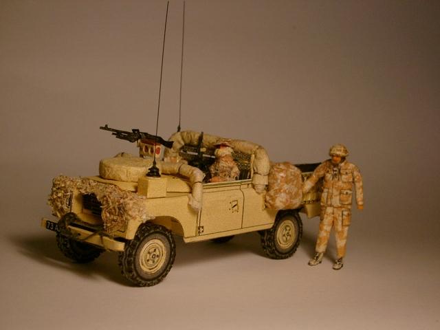 Desert Landy im Einsatz, gebaut von Rolf  Desert18