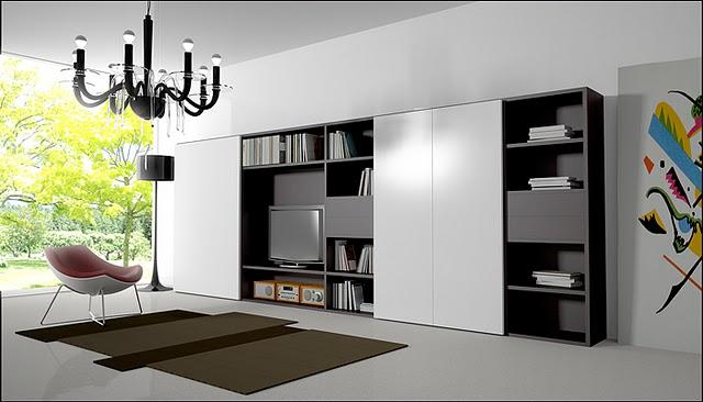 le salon: des meubles pour tout ranger Armobi10