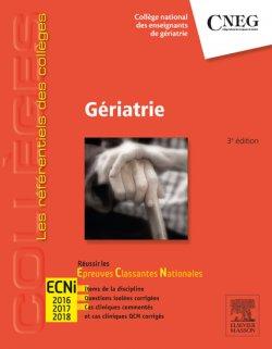 """[livre,lien marche]:les préférentiels des collèges """"Gériatrie"""" ECNi 2018-2019 pdf gratuit 97822911"""
