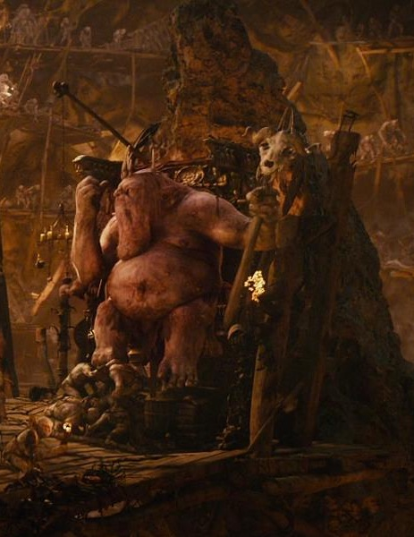 THE HOBBIT - KING THORIN ON THRONE B3ff9810