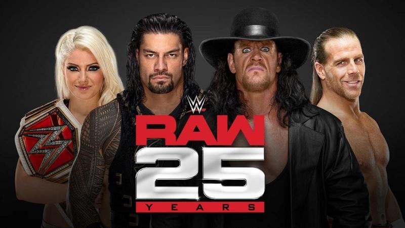 Raw 25 ans le 22/01/2018 (Présentation et Résultats) Raw_2510