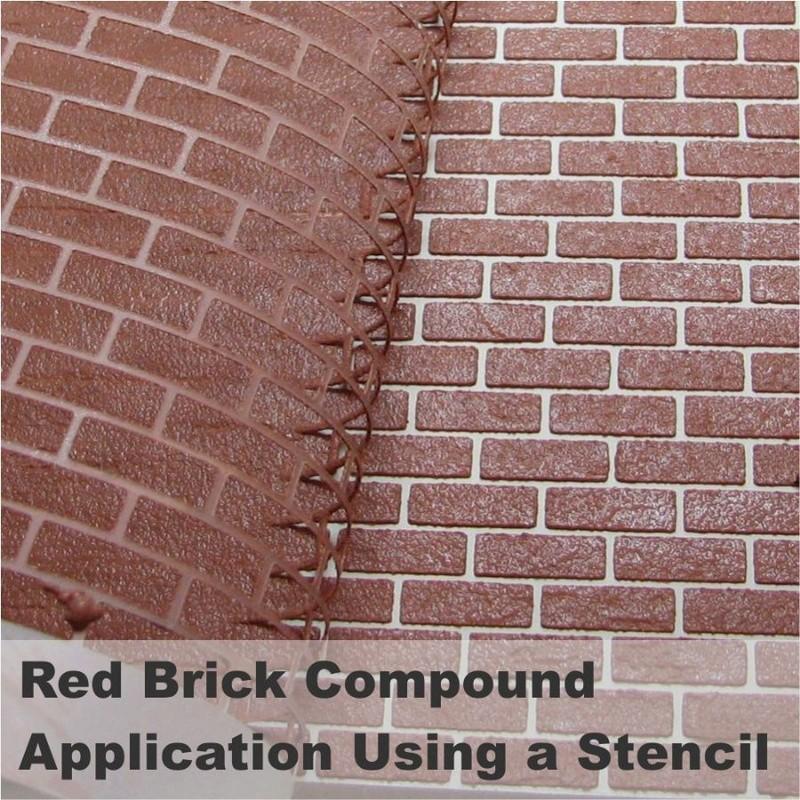 Pour les fans de diorama: les murs en briques faciles Bcp-210