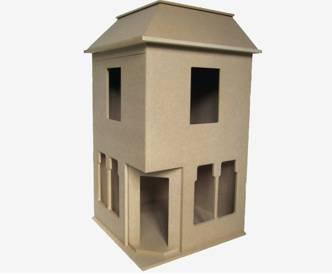Pour les fans de diorama: les murs en briques faciles Undeco10