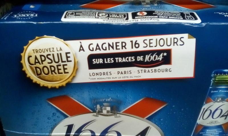 TROUVEZ LA CAPSULE KRONENBOURG 1664 DOREE Img_2049