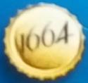 TROUVEZ LA CAPSULE KRONENBOURG 1664 DOREE 1664_c10
