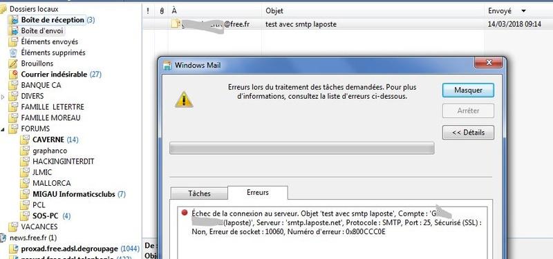 Reception Windows Mail Smtp_l10