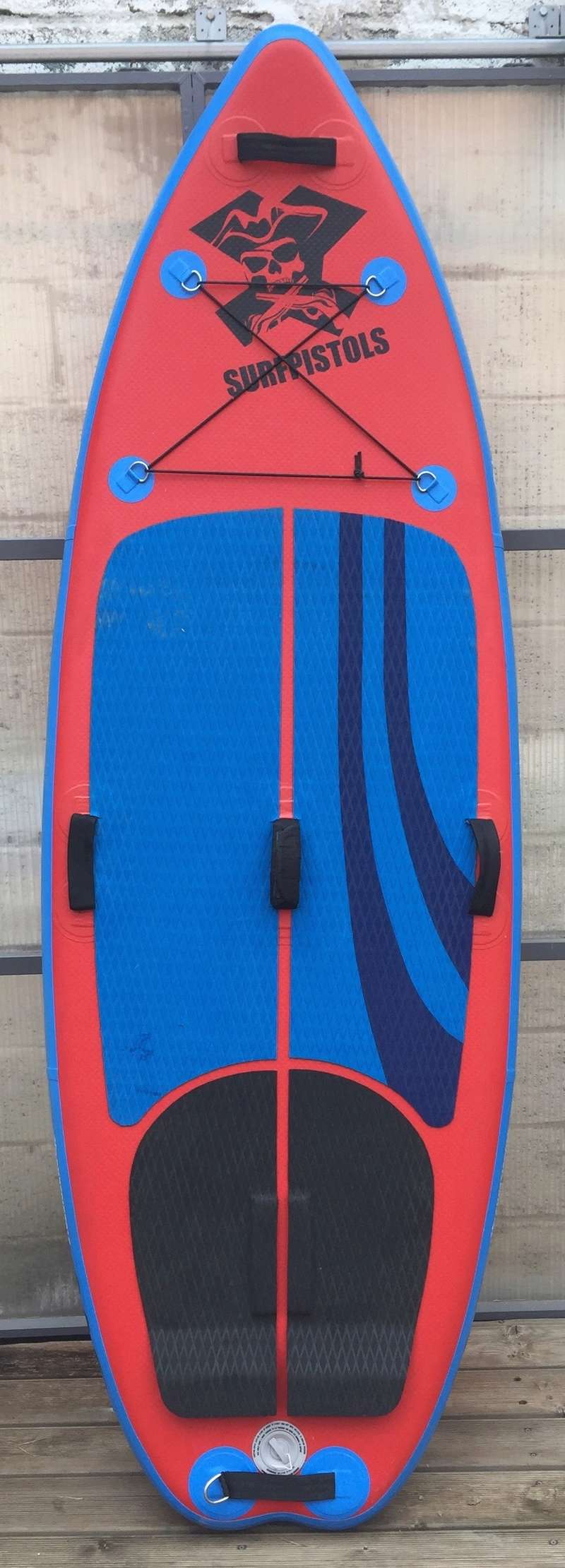 """SUP gonflable SurfPistols 8'6 WHITE WATER 8'6 34"""" 5' 250L Img_4210"""