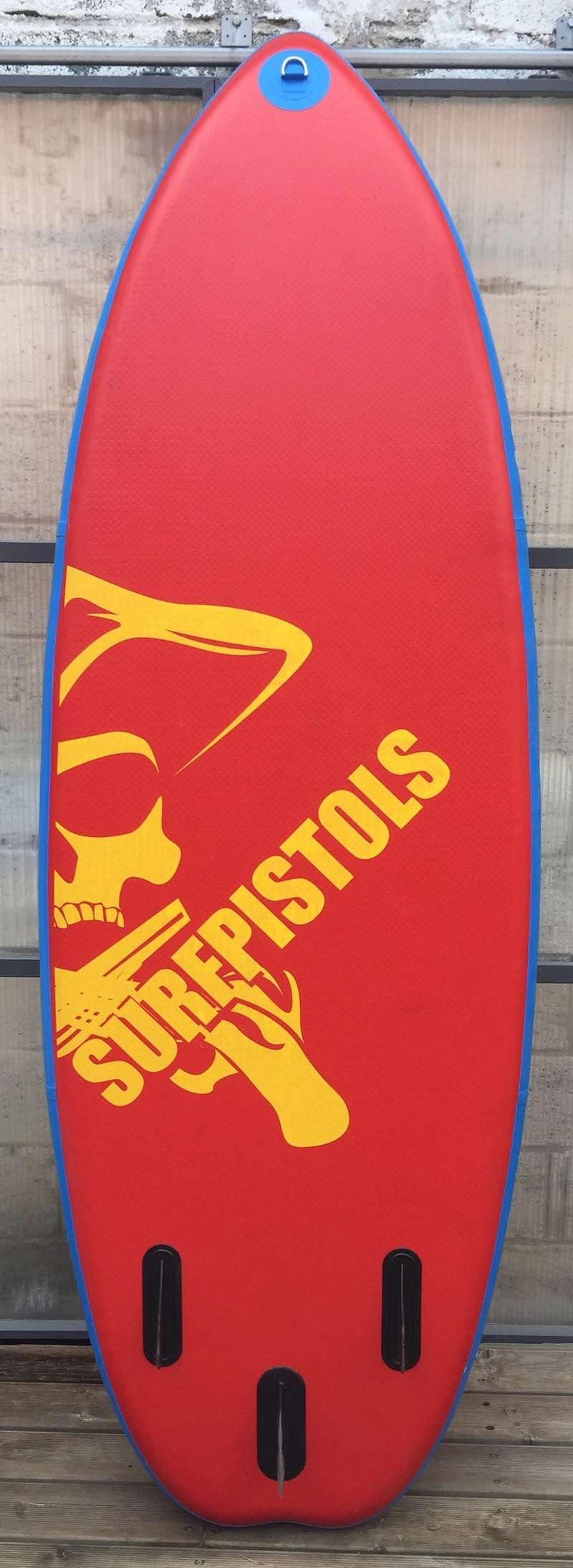 """SUP gonflable SurfPistols 8'6 WHITE WATER 8'6 34"""" 5' 250L Img_4211"""