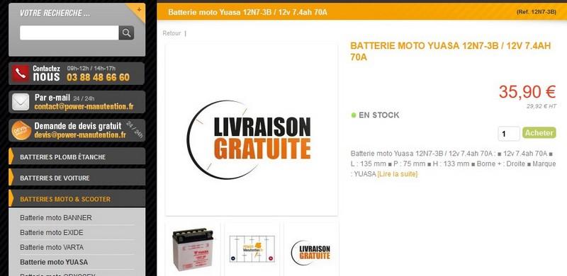 Recharge Batterie Batt_y11