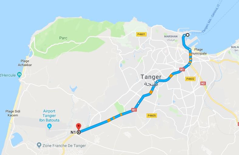 [Maroc/Le Bateau]  Traversée depuis Tarifa ou Algésiras  Tanger10