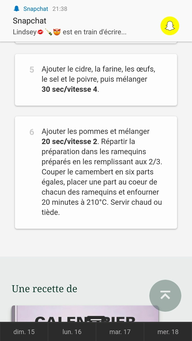 Moelleux camembert et cidre  659bcb10