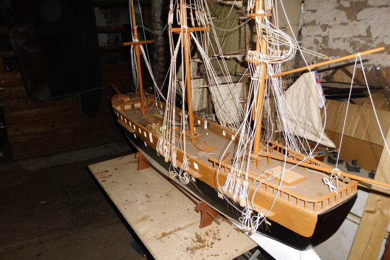 Restaurierung Dänische Fregatte Jylland 1:24 Dsci1810