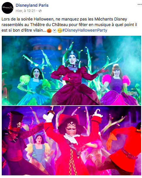 La Soirée Halloween Disney (31 octobre 2017)  - Page 4 Captur11