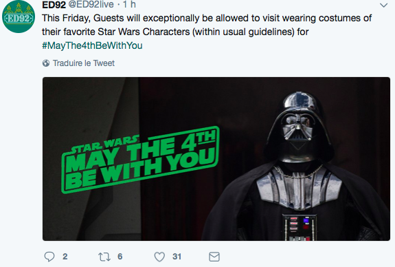 |Evenement] May the 4th be with you à Disneyland Paris le 4 mai Captur42