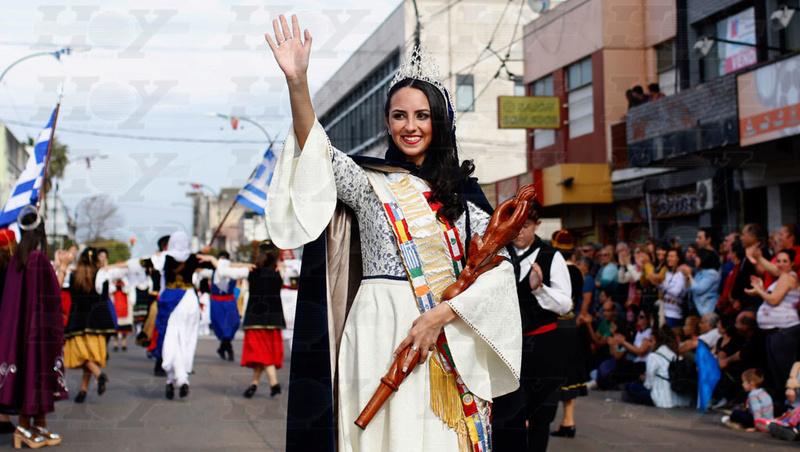 Berisso: cierre de la Fiesta del Inmigrante. 00113