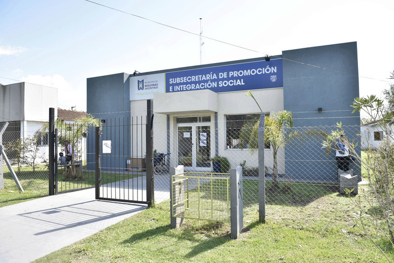 Malvinas Argentinas: sede de Promoción e Integración Social cumplió un año. _car4910