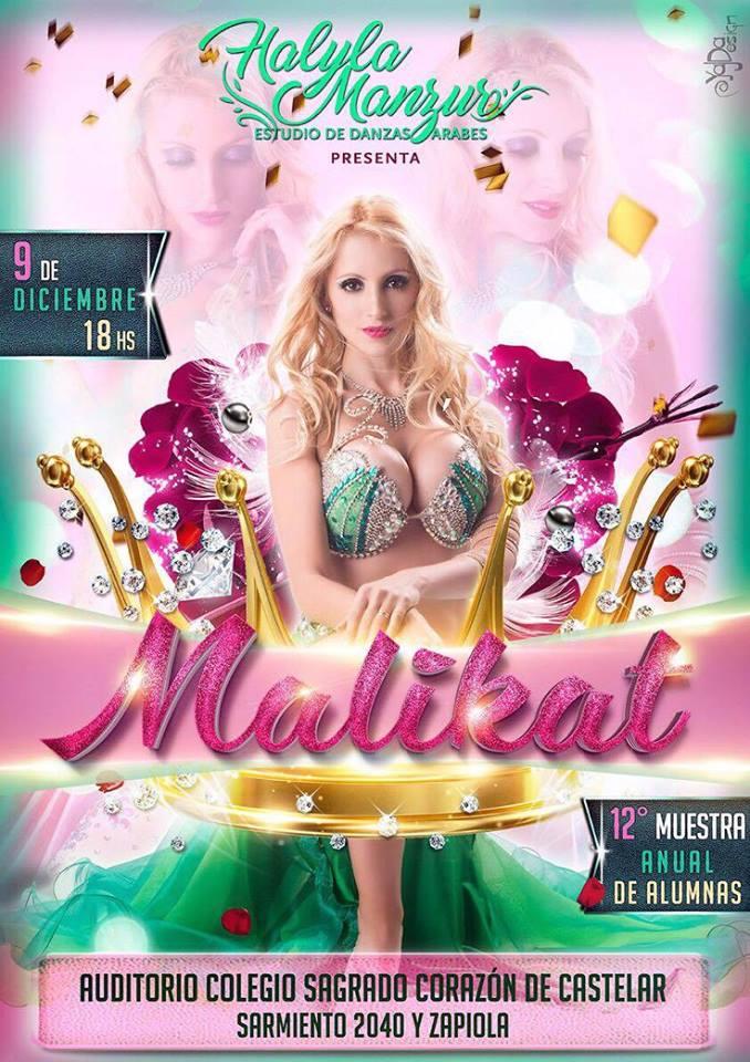 "Halyla Manzur presenta ""Malikat"". Aviso_34"