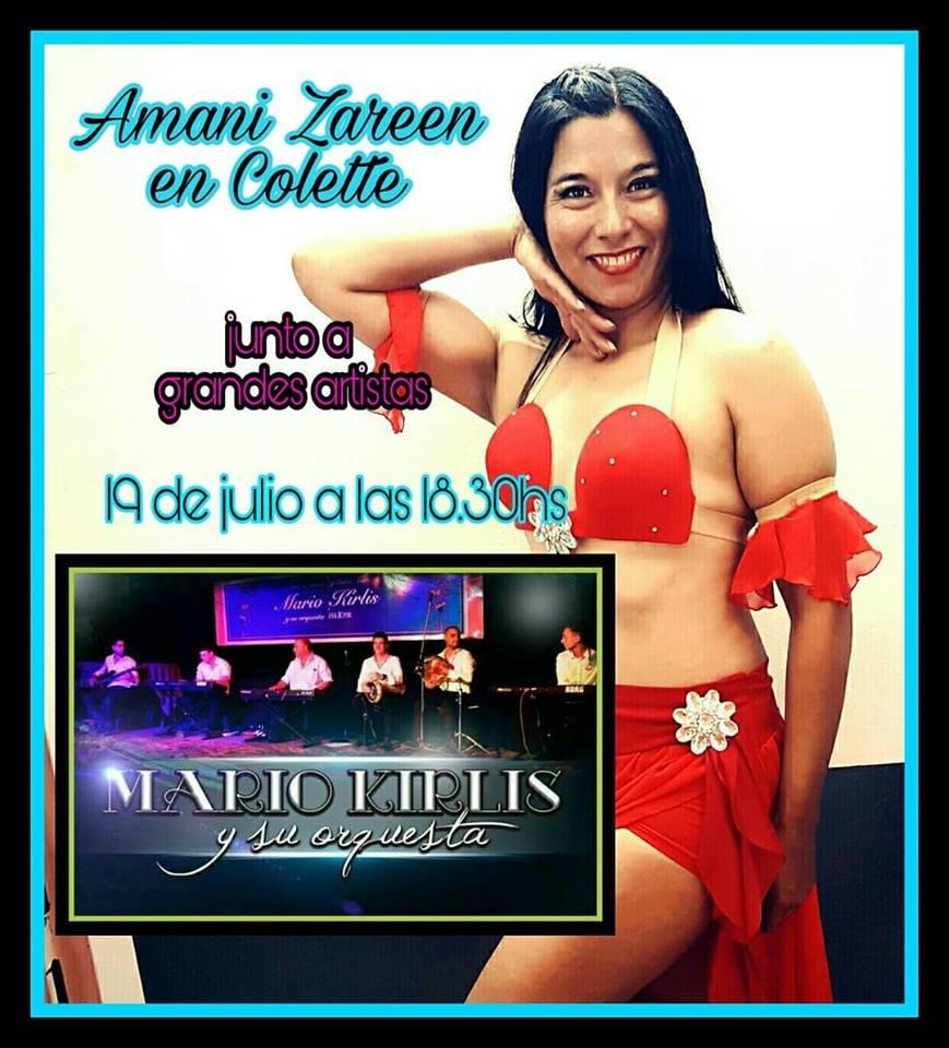 """Muy pronto... Amani Zareen en el complejo """"La Plaza"""". Aviso_76"""