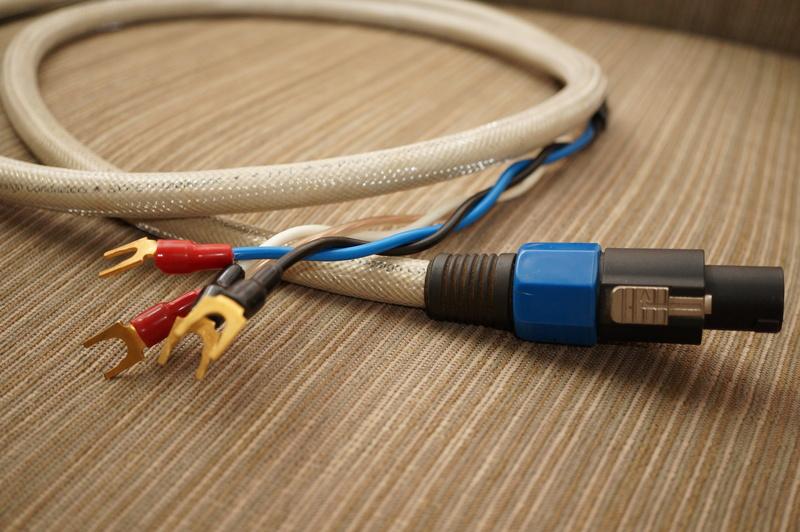 Tara Labs Prism BiWire neutrik speakon cable for REL subwoofer  (2 meter) Dsc09624